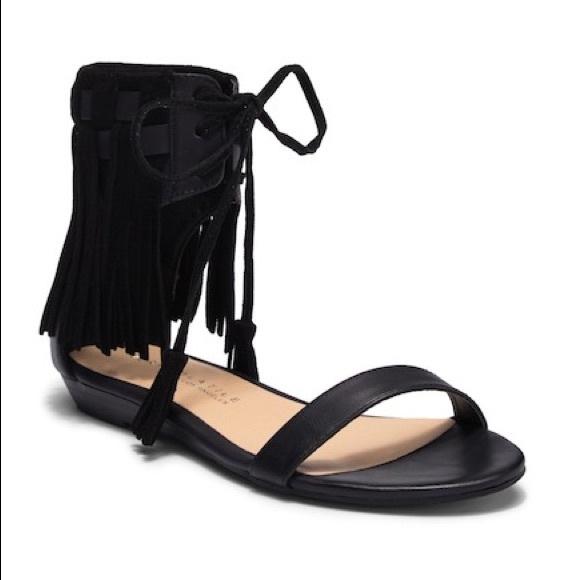 4d19862b8 Very Volatile Aubrey fringe sandal